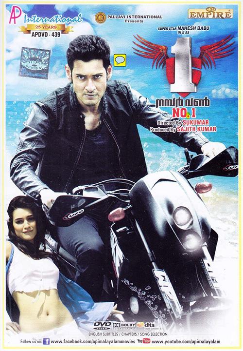 1 Nenokkadine (2014) Dual Audio 720p UNCUT BluRay [Hindi – Telugu] ESubs