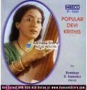 Popular Devi Krithis - Bombay S Jayashi Audio CD