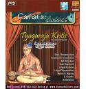 Carnatic Classics - Tyagaraja Kritis (Instrumental) MP3 CD