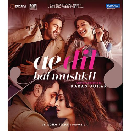 Ae Dil Hai Mushkil - 2016 (Hindi Blu-ray)