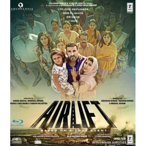 Airlift - 2016 (Hindi Blu-ray)