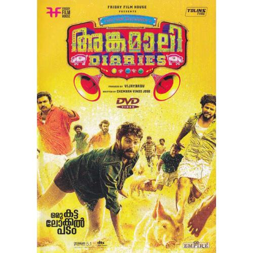 Angamaly Diaries - 2017 DD 5.1 DVD