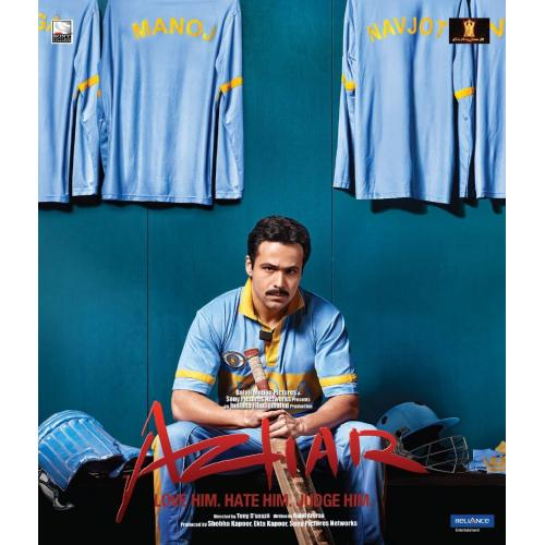 Azhar - 2016 (Hindi Blu-ray)