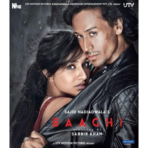 Baaghi - 2016 (Hindi Blu-ray)