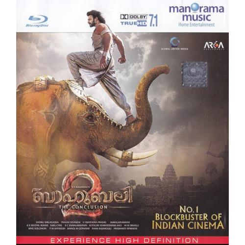 Baahubali 2: The Conclusion - 2017 (Malayalam Blu-ray)