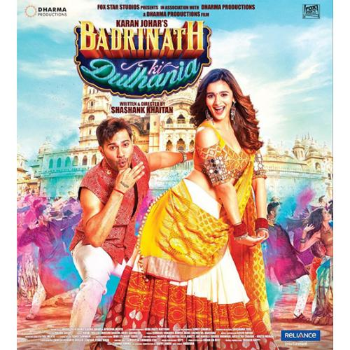 Badrinath Ki Dulhania - 2017 (Hindi Blu-ray)