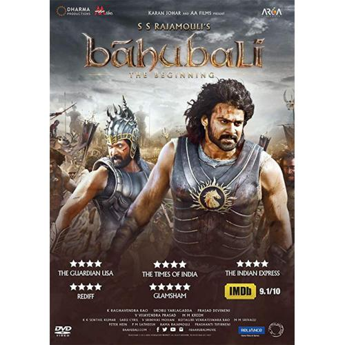 Baahubali : The Beginning (Hindi) - 2015 DD 5.1 DVD