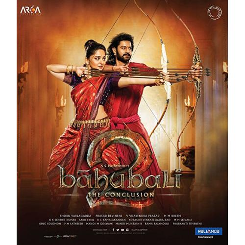 Baahubali 2 : The Conclusion - 2017 (Hindi Blu-ray)