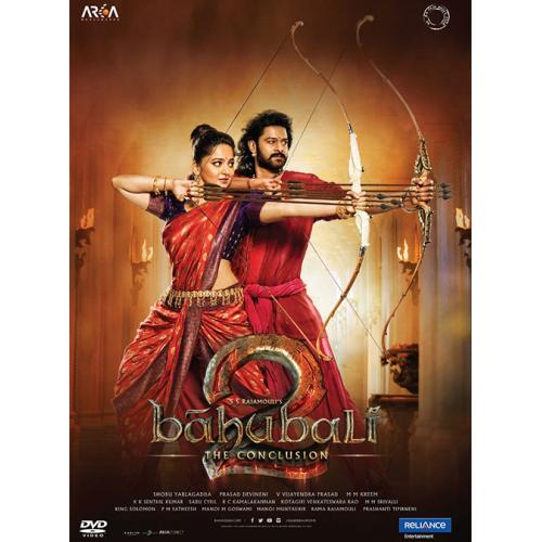 Baahubali 2 : The Conclusion (Hindi) - 2017 DD 5.1 DVD