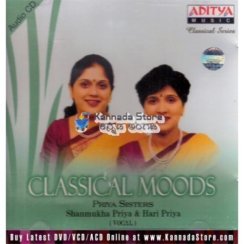 Classical Moods - Priya Sisters (Classical Vocal) Audio CD