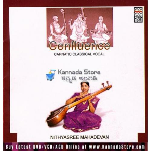Confluence (Classical Vocal) - Nithyashree Mahadevan Audio CD