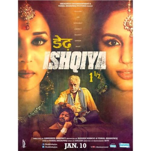 Dedh Ishqiya - 2014 (Hindi Blu-ray)