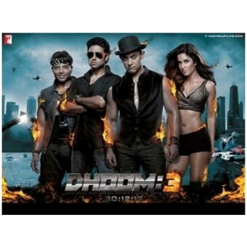 Dhoom 3 - 2013 (Hindi Blu-ray)