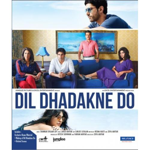 Dil Dhadakne Do - 2015 (Hindi Blu-ray)