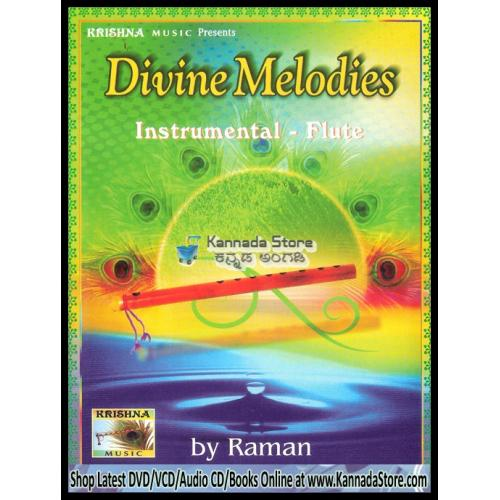 Divine Melodies (Flute Instrumental) - Raman Audio CD