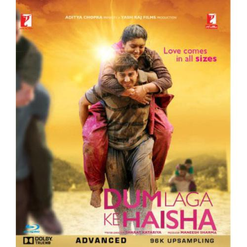 Dum Laga Ke Haisha - 2015 (Hindi Blu-ray)