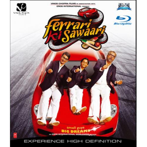 Ferrari Ki Sawaari - 2012 (Hindi Blu-ray)