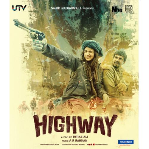 Highway - 2014 (Hindi Blu-ray)