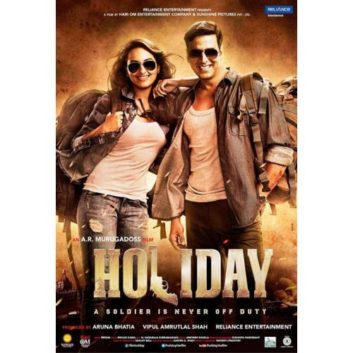Holiday - 2014 (Hindi Blu-ray)
