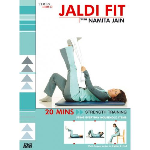Jaldi Fit (Using Household Items) With Namita Jain DVD
