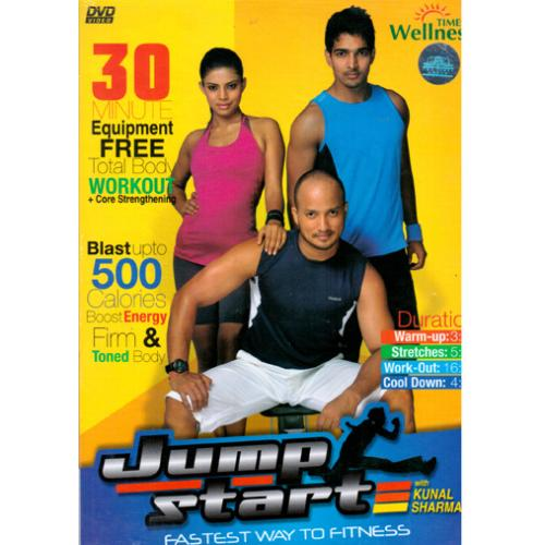 Jump Start - Fastest Way To Fitness With Kunal Sharma DVD