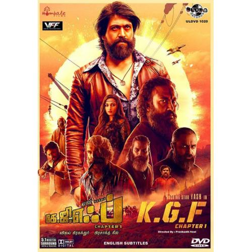 K.G.F: Chapter 1 - 2018 DD 5.1 DVD