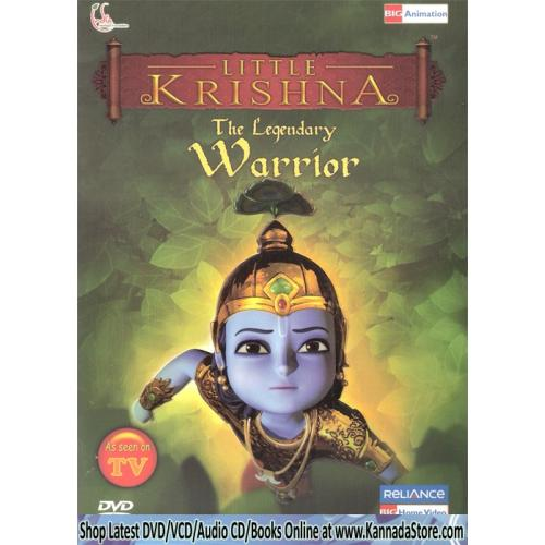 Little Krishna - The Legendary Warrior (Animated TV Series) DVD