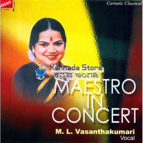 Maestro In Concert - ML Vasanthakumari 3 CDs Set