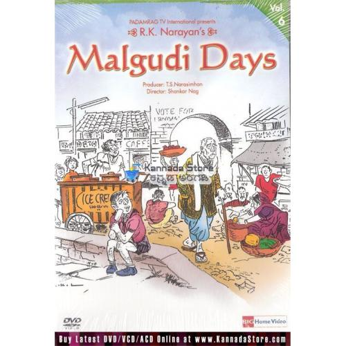 Malgudi Days (Single DVD) 9 Episodes - Vol 6
