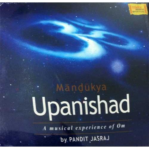 Mandukya Upanishad (Sanskrit) - Pandit Jasraj (3 Audio CD Set)