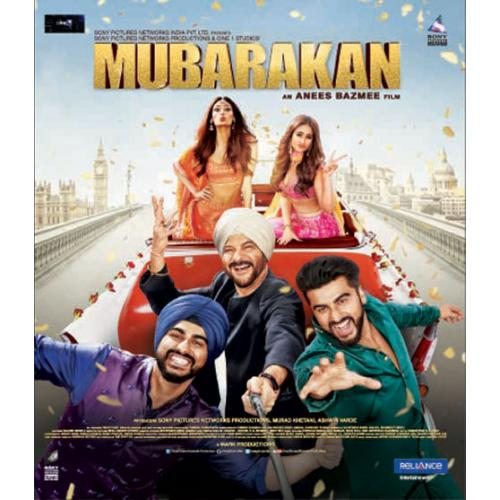 Mubarakan - 2017 (Hindi Blu-ray)