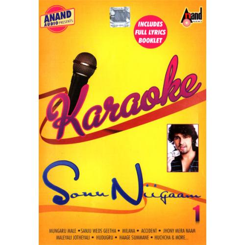 New Karaoke Vol 1 - Sonu Nigam Solo Kannada Songs MP3 CD