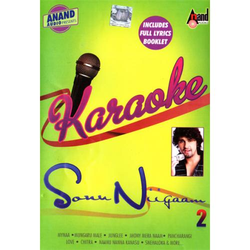 New Karaoke Vol 2 - Sonu Nigam Solo Kannada Songs MP3 CD