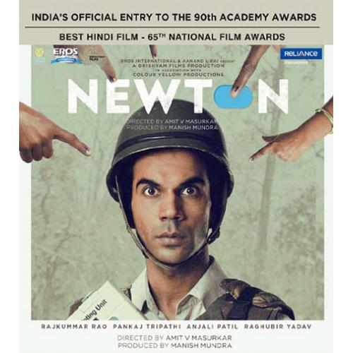 Newton - 2017 (Hindi Blu-ray)