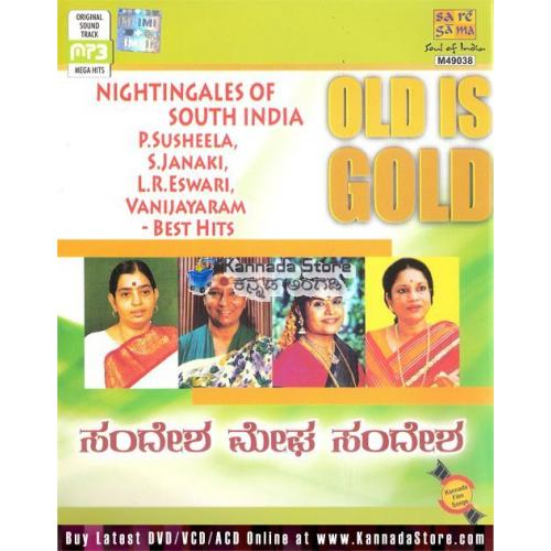 Nightingales of South India - Best Kannada Film Hits MP3 CD