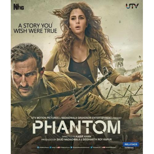Phantom - 2015 (Hindi Blu-ray)