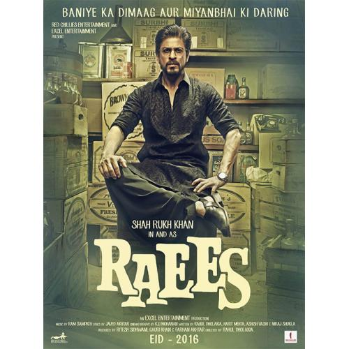 Raees - 2016 (Hindi Blu-ray)