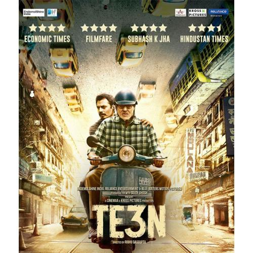 TE3N - 2016 (Hindi Blu-ray)