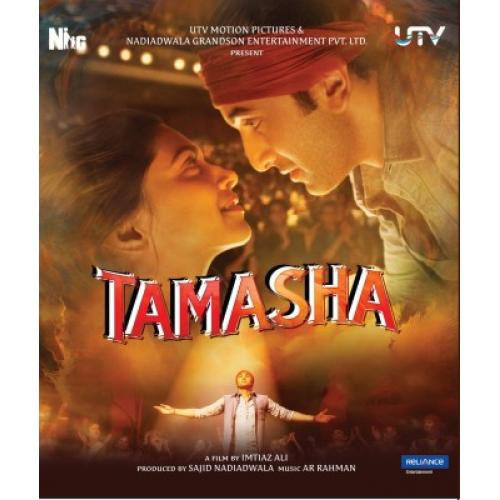 Tamasha - 2015 (Hindi Blu-ray)