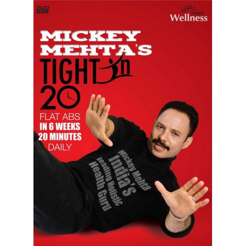 Tight In 20 - Mickey Mehta (Yoga Visuals) Video DVD