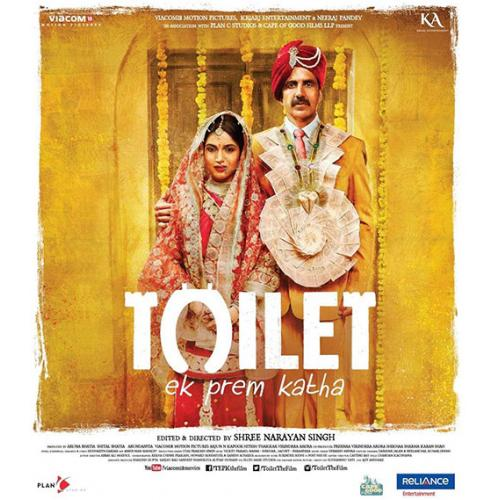 Toilet: Ek Prem Katha - 2017 (Hindi Blu-ray)