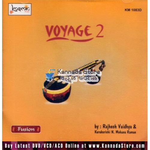 Voyage Vol 2 (Fusion) - Rajhesh Vaidhya Audio CD