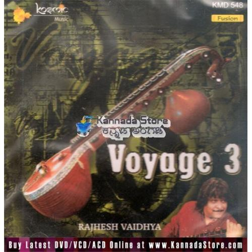 Voyage Vol 3 (Fusion) - Rajhesh Vaidhya Audio CD