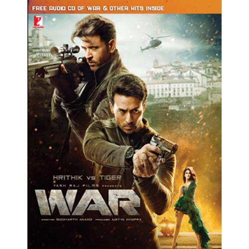 War - 2019 DVD + Free Audio CD