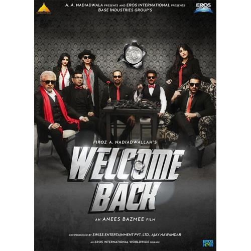 Welcome Back - 2015 (Hindi Blu-ray)