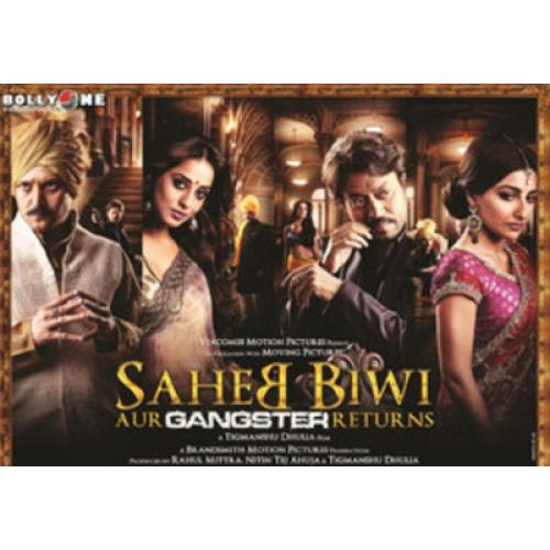 Saheb Biwi Aur Gangster Returns - 2013 (Hindi Blu-ray)